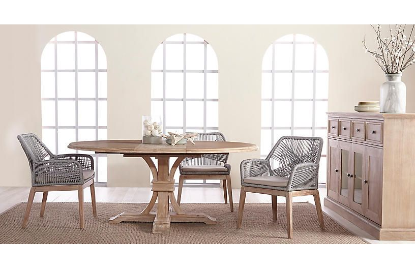 S 2 Easton Armchairs Platinum Side Chairs Dining Farmhouse