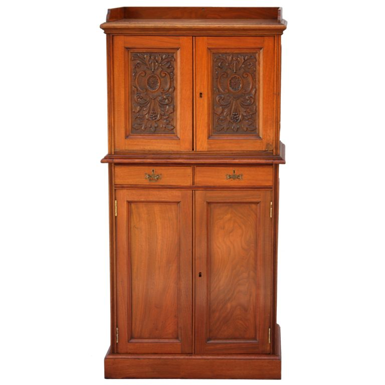 Beautiful Turn-of-the Century Dental or Medical Cabinet   From a unique collection of antique and modern cabinets at https://www.1stdibs.com/furniture/storage-case-pieces/cabinets/