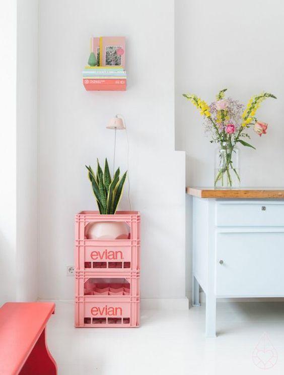 18 jolis intérieurs pastels repérés sur Pinterest