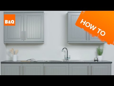 How to paint kitchen cabinets - YouTube (With images ...