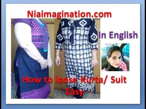 2e827377e50d0 How to increase width of kurta | loose suit | If no enough cloth with all  suggestions | in English - YouTube