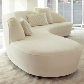 Free Form Curved Sofa With Arm With Images Curved Sofa Curved
