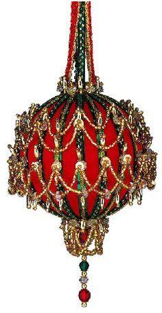 The Cracker Box  Inc Christmas Ornament Kit Golden Oldie Chandelier