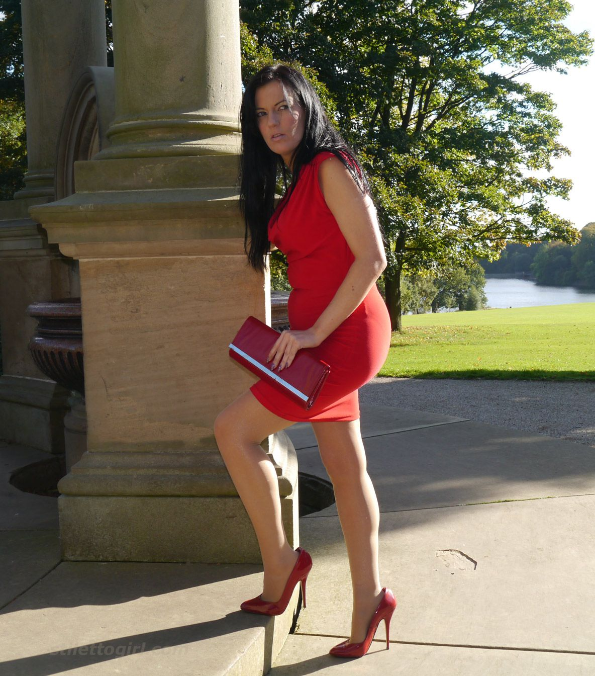 Mature women high heels