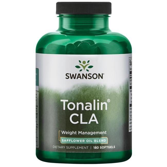 Swanson Best Weight-Control Formulas Tonalin Cla | 1 G | 180 Soft Gels | Essential Fatty Acids