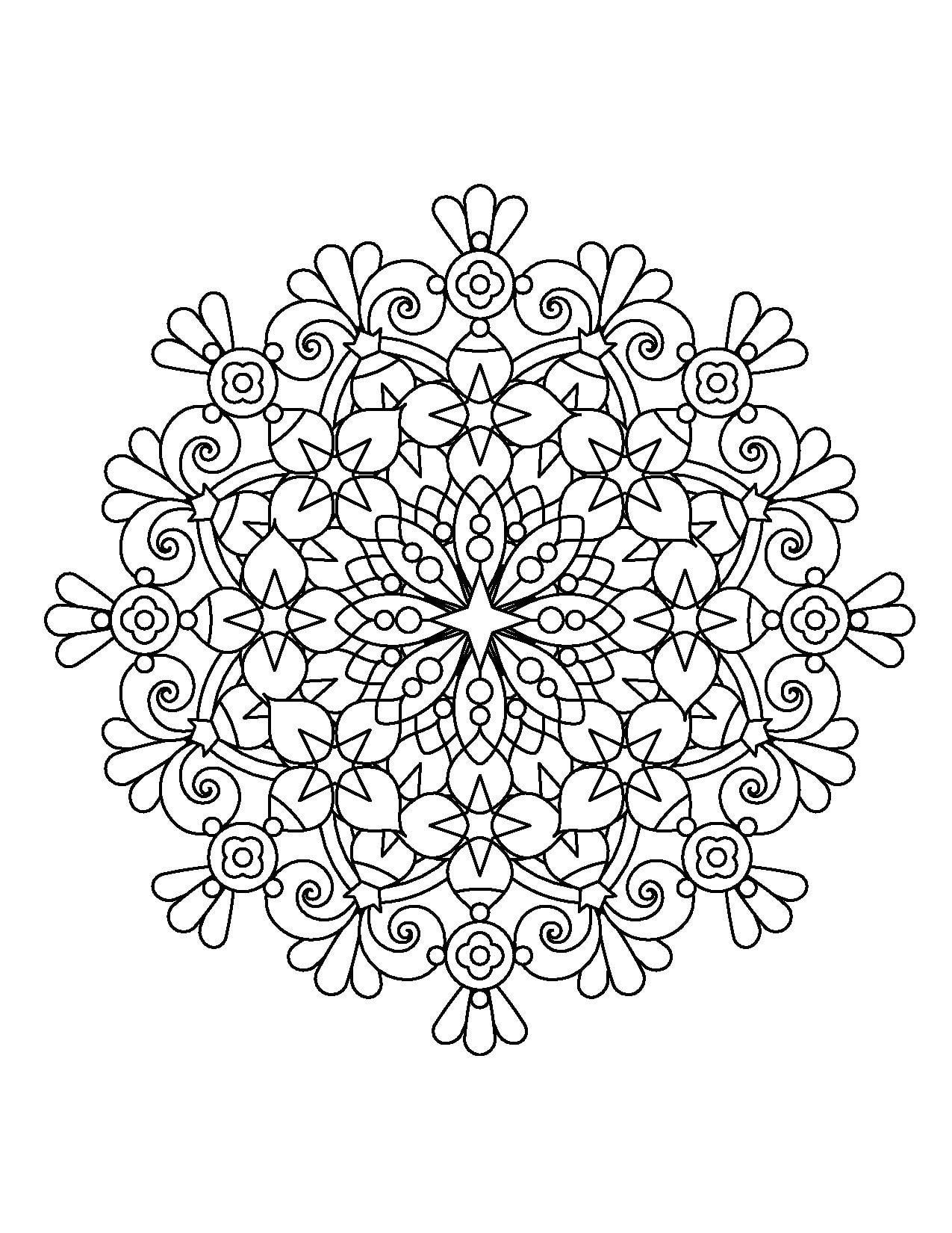 Magical Mandalas for Adults Who Color Live Your Life in Color Series – Coloring Book