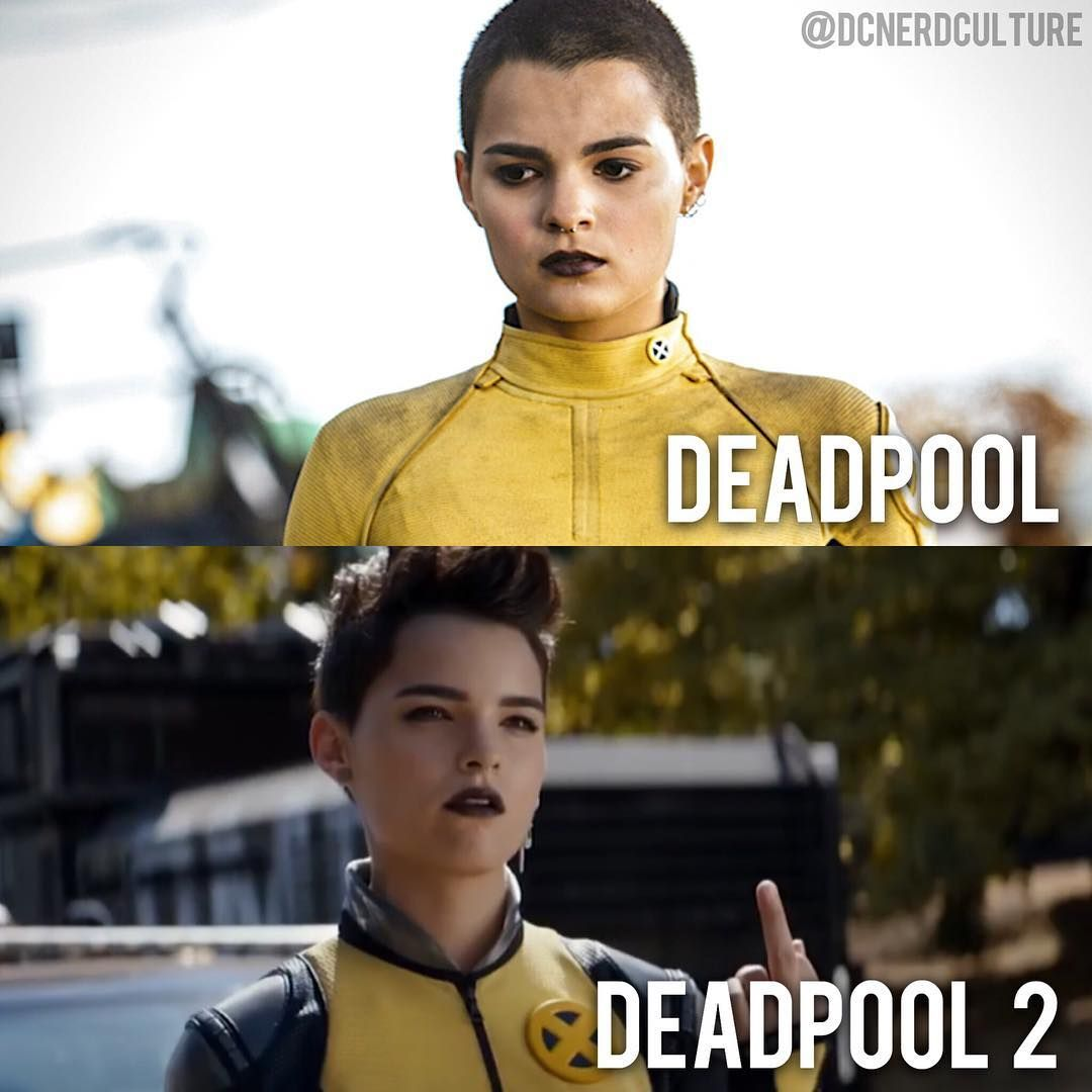 Negasonic Teenage Warhead Deadpool Marvel Xmen Teenage Warhead Deadpool Movie Marvel X
