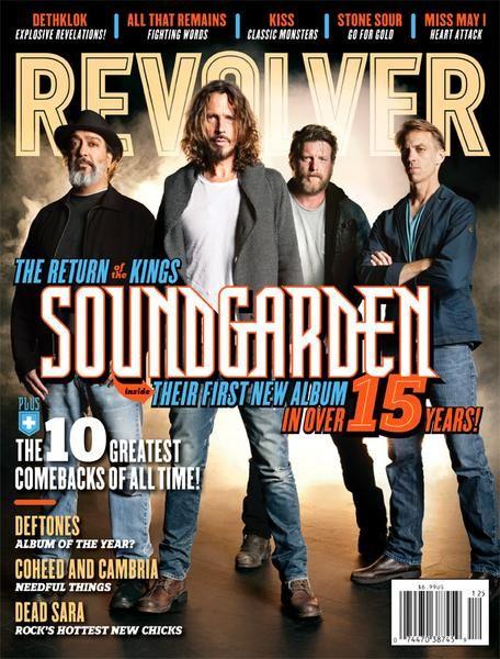 REVOLVER - November/December - 2012 - Soundgarden