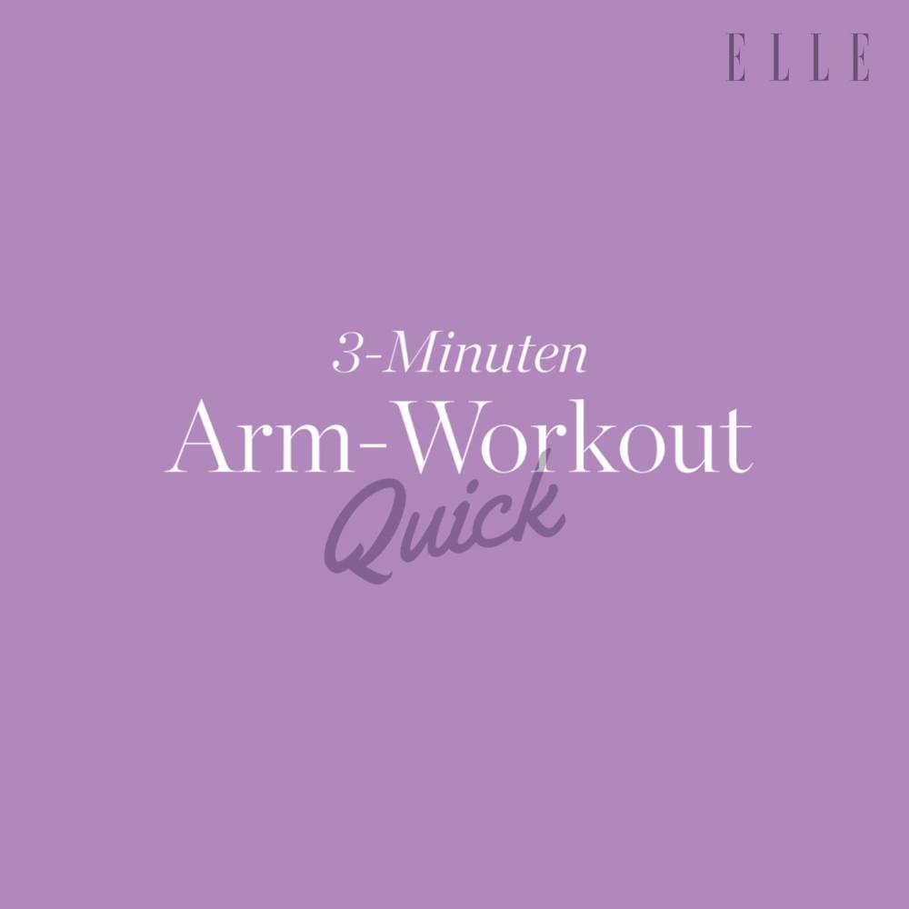 Straffe und schlanke Arme: Das 3-Minuten Workout ohne Equipment Deine Arme sind …