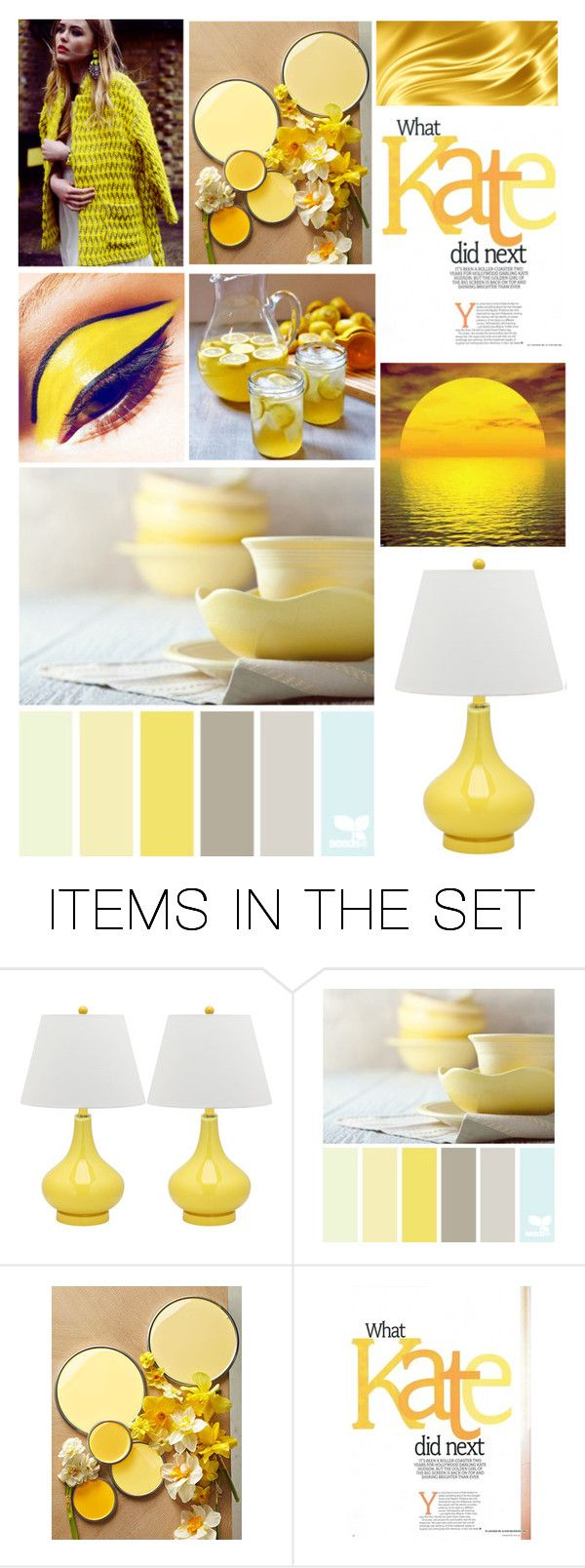 """""""yellow"""" by shyliekee-791 ❤ liked on Polyvore featuring art"""