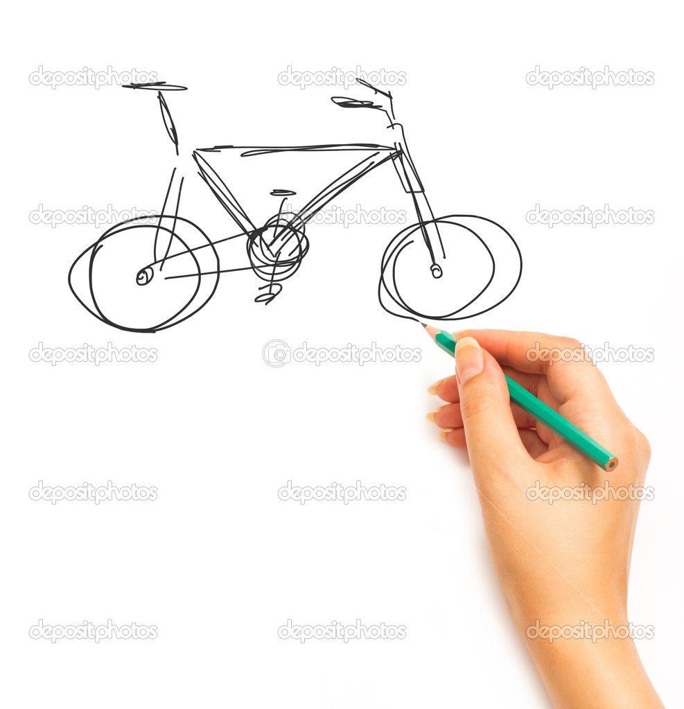 rysowanie człowieka na rowerze - Szukaj w Google