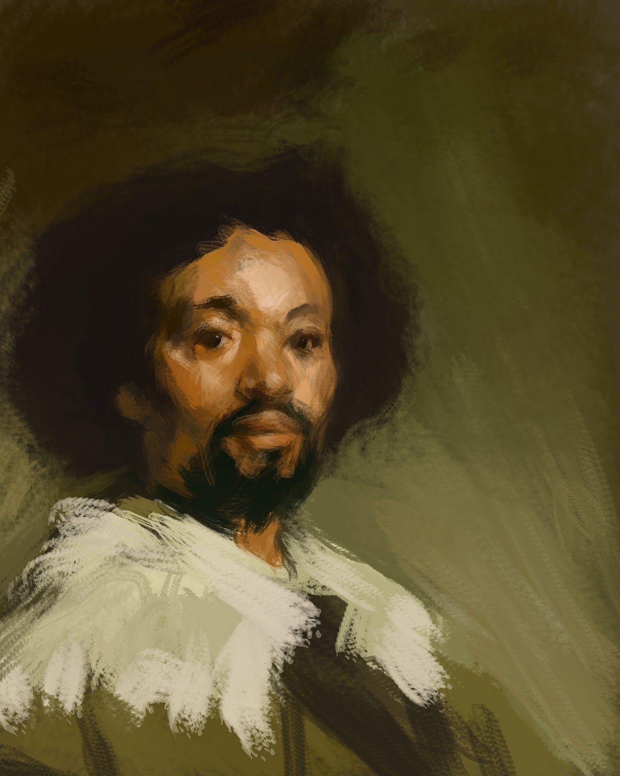 Portret van Juan de Pareja ~ 1649 ~ Olieverf op doek ~ Particuliere verzameling, Salisbury