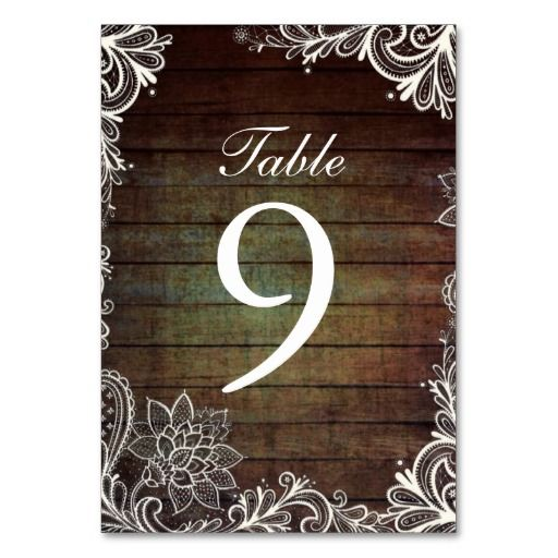 rustic barnwood lace country wedding table number table card lowest price for you. In addition you can compare price with another store and read helpful reviews. BuyShopping          	rustic barnwood lace country wedding table number table card please follow the link to see fully revi...