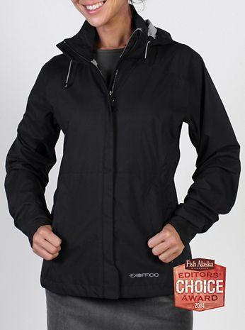 ExOfficio Womens Rain Logic Jacket