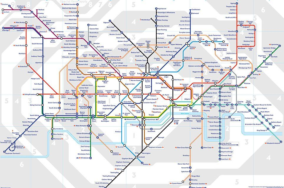 growing underground remarkable maps show how londons tube network has expanded and changed over the past century