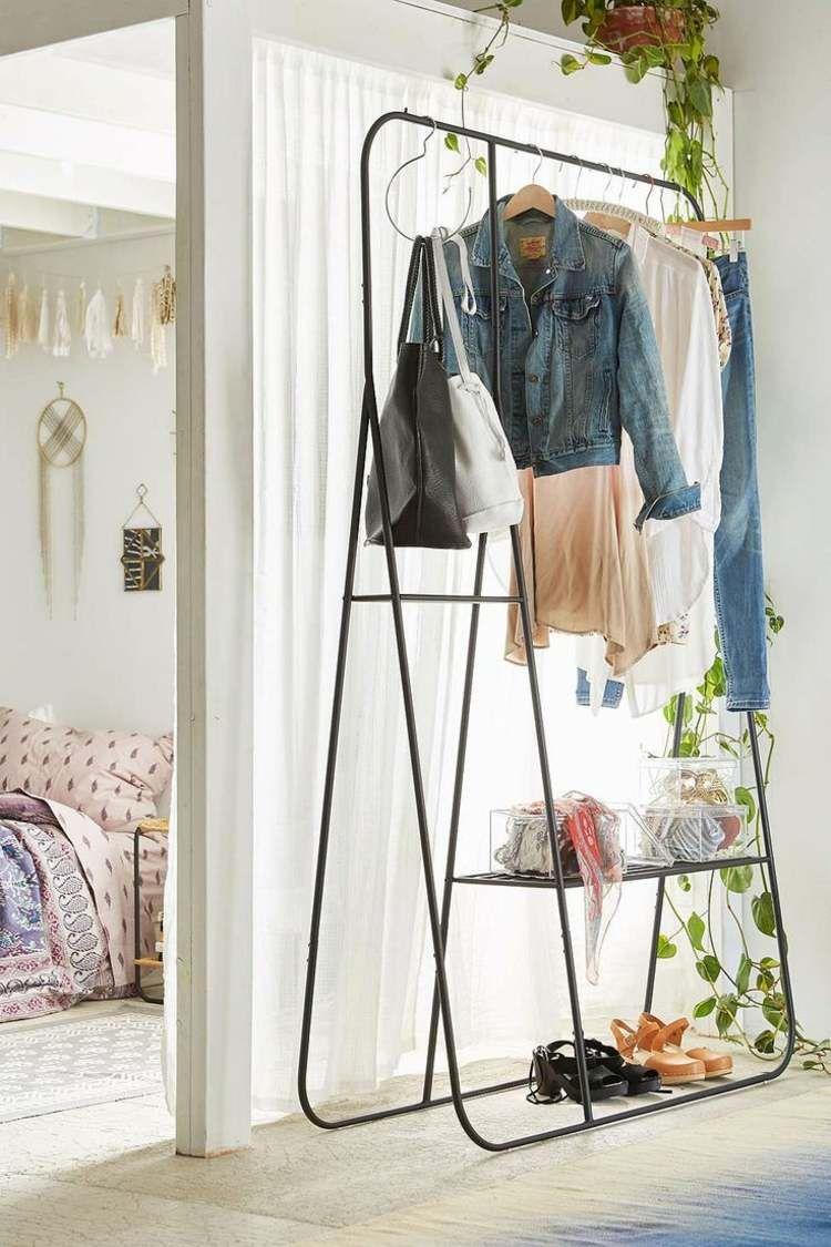 Portant Vetement Original Valet De Chambre Penderie Et Porte Manteau Minimalist Furniture Design Clothing Rack Minimalist Home Decor