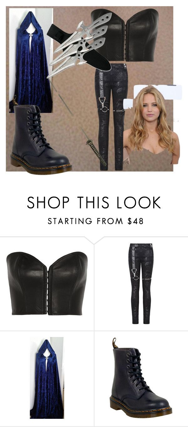 """""""On Neverland"""" by dragana98-pan on Polyvore featuring Kiki de Montparnasse and Dr. Martens"""