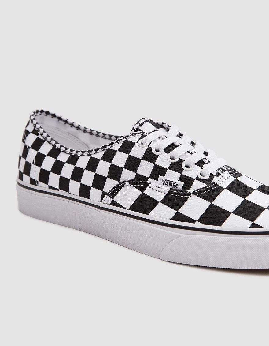 Vans   Authentic Sneaker in Black White Checker in 2019  1a919264b
