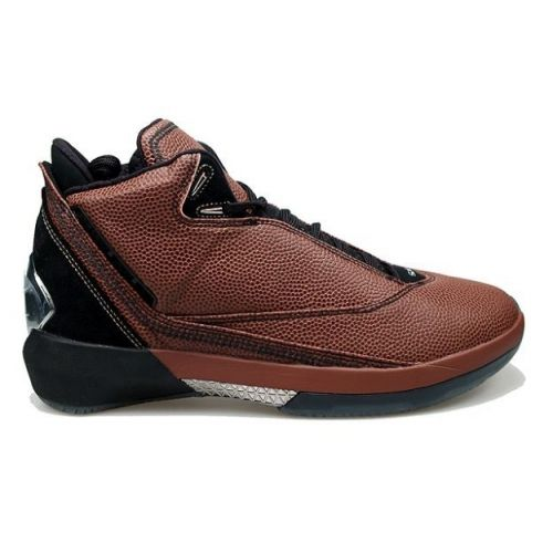 7635ad4554b Air Jordan XXII 22 Limited Basketball Leather Edition brown black 316238-002