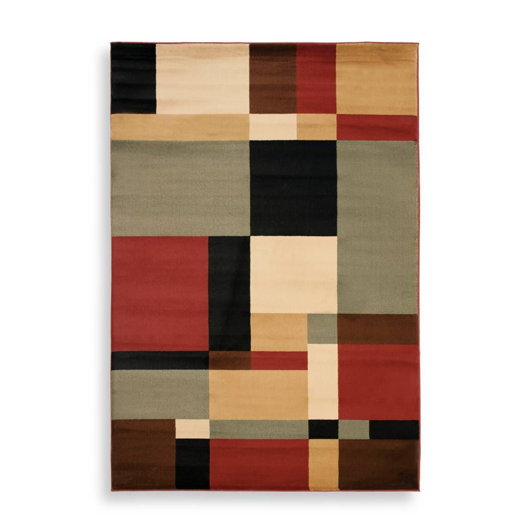 product image for Safavieh Porcello Collection Griffith Rugs in Black/Multi
