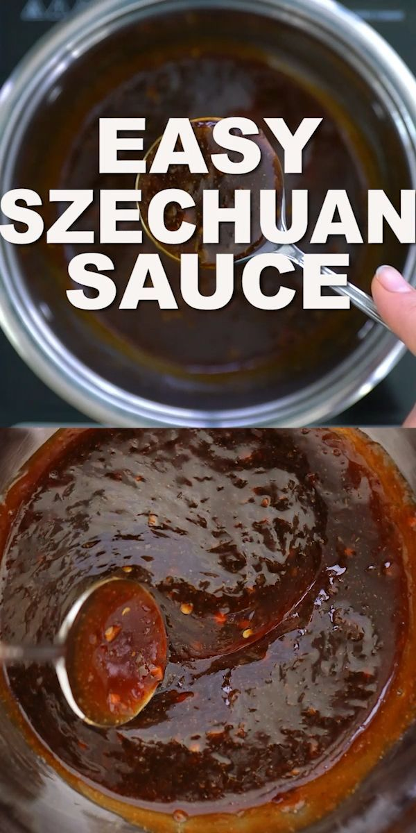 Easy Szechuan Sauce Recipe [video] – Sweet and Savory Meals