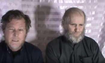 Talibanes publican un video de rehenes de EEUU y Australia con un mensaje para Trump