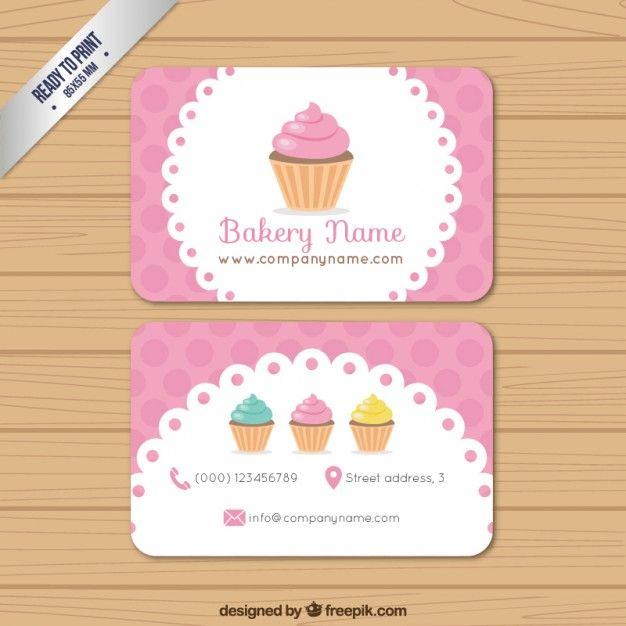 Favoritos Cartão da padaria | Logos, Business cards and Business VI24
