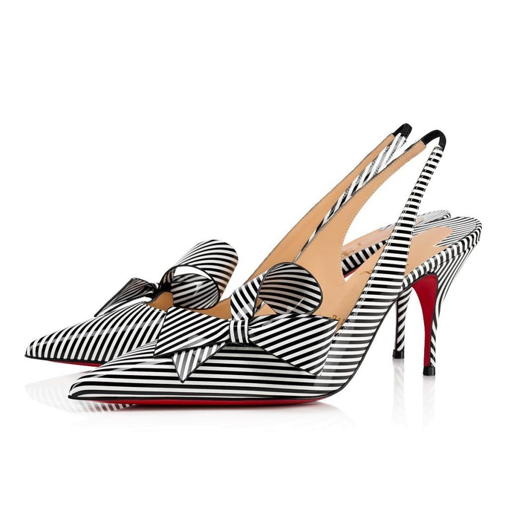 d7af7b4f66e These Christian Louboutin Striped Heels Are Perfect For Spring   Summer -  High Heel Seek