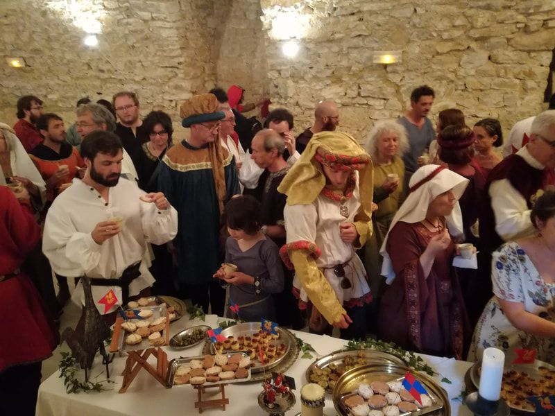 Traiteur Et Chef A Domicile En Cuisine Medievale Les Delices De