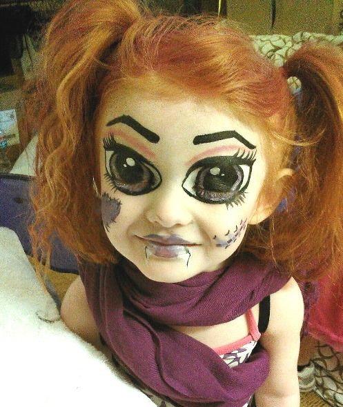 Cute Halloween Makeup for Girls , Halloween Makeup Ideas for Women