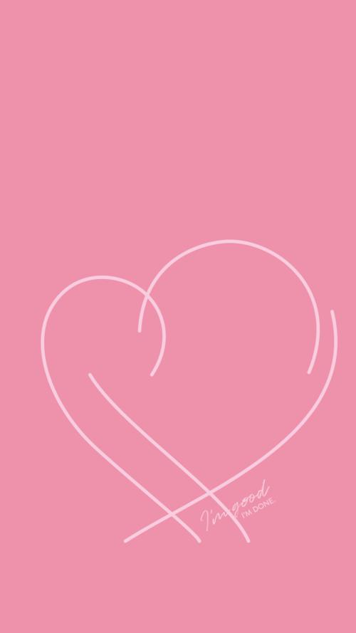 BTS Map of the Soul: Persona Album Art — I'm Good. I'm Done.