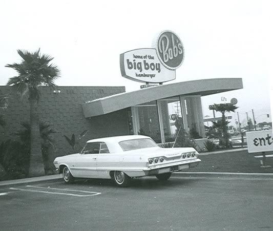 1963 Chevrolet Impala At Bob S Big Boy In West Covina Nice Vintage Photo West Covina Covina Big Boy Restaurants