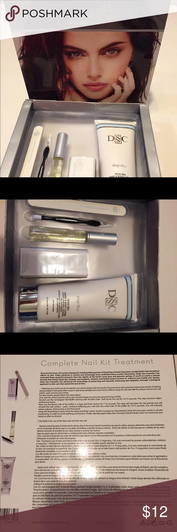 Deep Sea Cosmetics Nail treatment kit   Deep sea, Cosmetics and Bodies