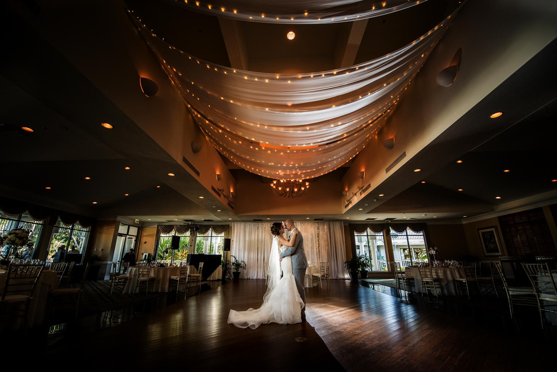Tatyana And Ethan Dancing Together In Their Reception