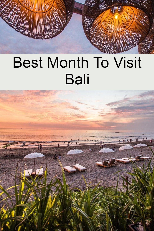 Best Month To Visit Bali in 2020 Bali weather, Bali surf