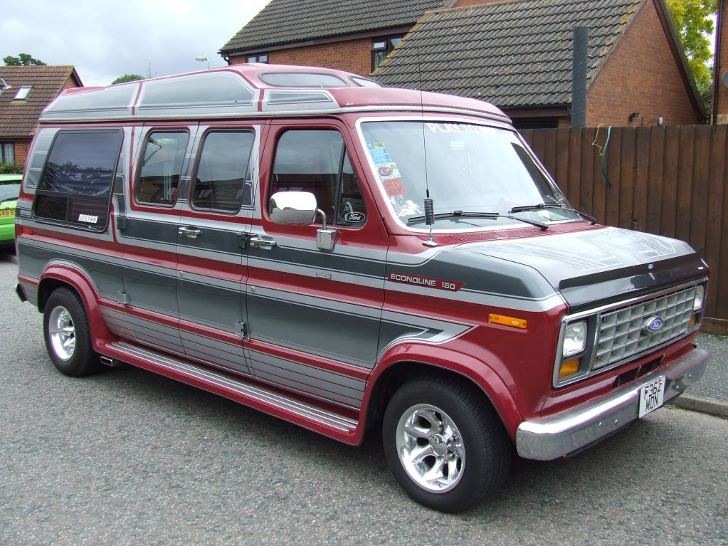 Ford Econoline 150 Ford Custom Van Gmc Vans Ford Van