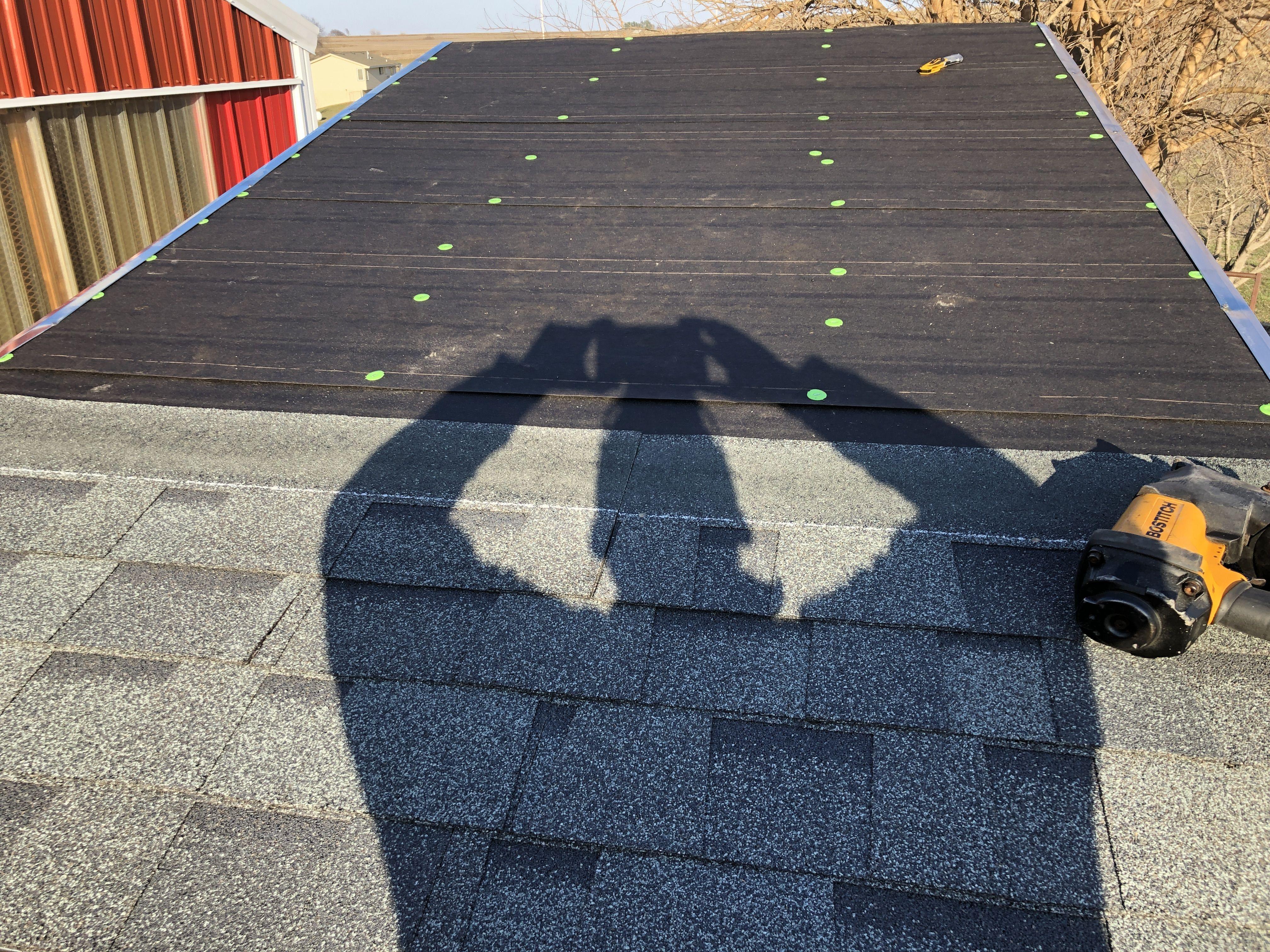 Adding Shingles Asphalt Shingles Roofing Materials Shingling