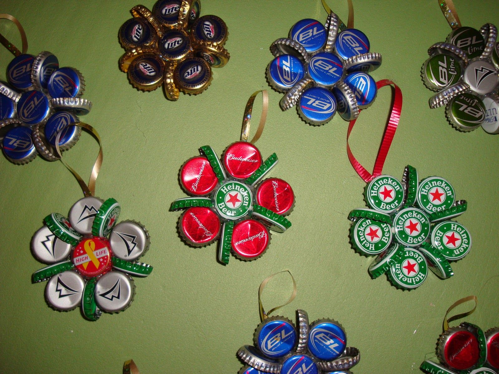 top 10 upcycled bottle cap diy christmas ornaments cap