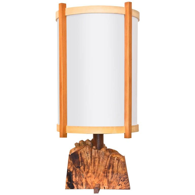 Unique George Nakashima Table Lamp 20th Century In 2018 - Inspirational designer table lamps Model