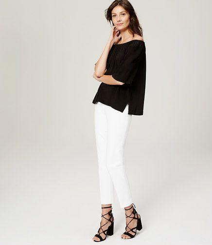 3e8d7193a0 Image of Petite Bi-Stretch Riviera Cropped Pants in Julie Fit ...