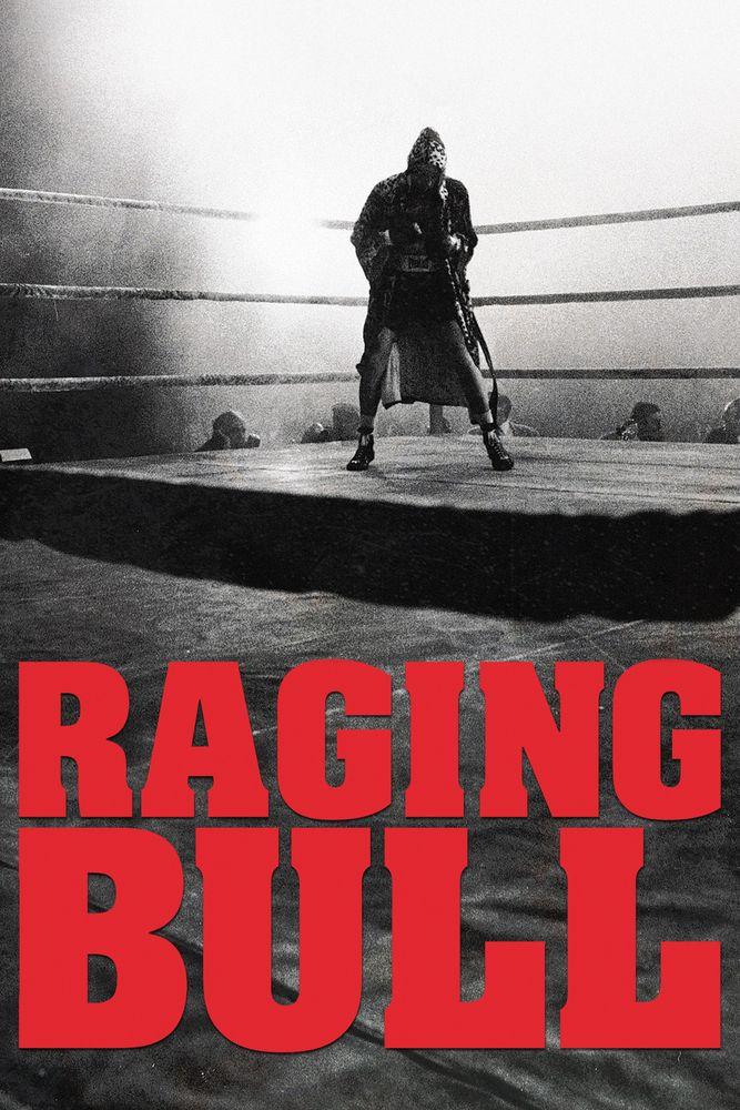 raging bull poster artwork robert de