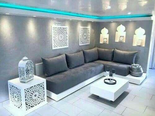 Salón arabe | مجلس in 2019 | Déco salon, Décoration salon marocain ...