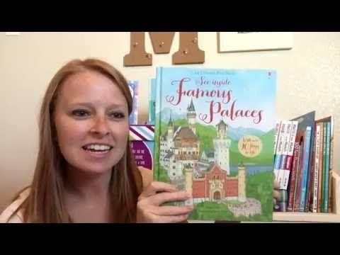 Usborne Flap Book See Inside: Famous Palaces - YouTube @UsborneBookBattalion on Facebook, YouTube, and Instragram! www.UsborneBookBattalion.com