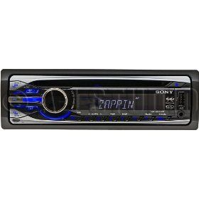 Sony CDX-GT55UIW - Radio / CD / MP3 player / USB flash player - Xplod - Full-DIN - in-dash - 52 Watts x 4 Review