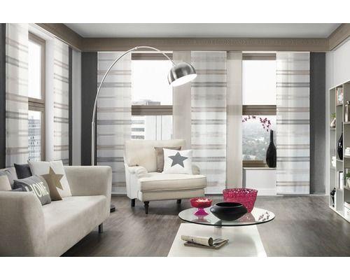 die besten 25 schiebegardinen braun ideen auf pinterest k che gardinen mit klettband. Black Bedroom Furniture Sets. Home Design Ideas
