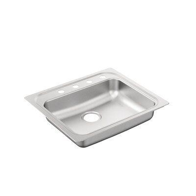 Moen 2000 Series 25 X 22 Drop In Kitchen Sink In 2020 Stainless Steel Kitchen Sink Stainless Steel Kitchen Sink