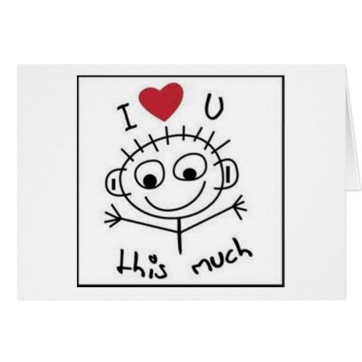 I love you and i miss you this much card greeting cards and i love you and i miss you this much card greeting cardshusband m4hsunfo