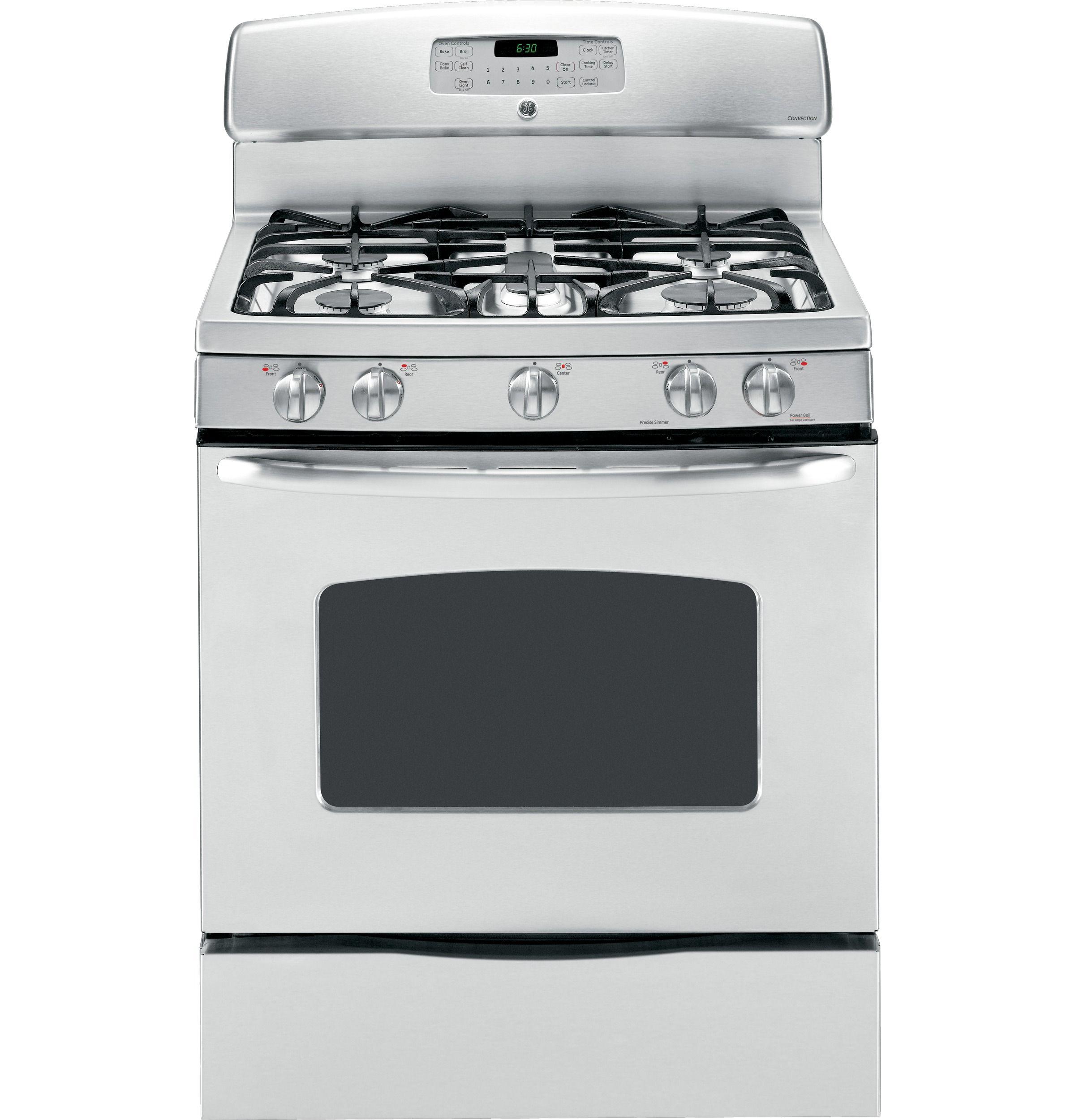 Jgb810setss Ge 30 Free Standing Gas Range Ge Appliances