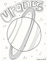 free solar system coloring pages and printables from classroom doodles