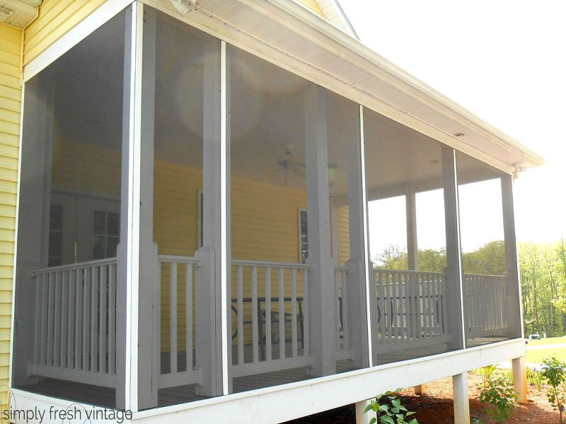 Screen Your Porch In 3 Easy Steps Screened Diy